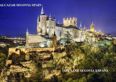 ALCAZAR SEGOVIA SPAIN - ALCAZAR SEGOVIA ESPANA