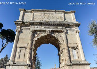 ARCH OF TITUS ROME - ARCO DE TITO ROMA